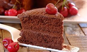 Eggless Chocolate Cake Stork