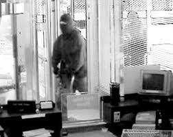 u s army rangers from fort lewis rob the bank of america branch still from the bank surveillance video during ranger robber