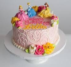 Disney Princess Cake Topper Additional Cost Cakes Design