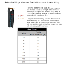 Reflective Purple Wings Womens Textile Motorcycle Chaps