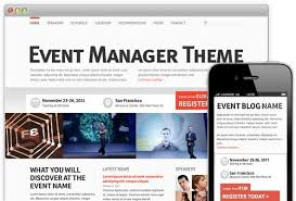 Event Website Template Stunning WordPress Event Themes WordPress Themes Pinterest Event