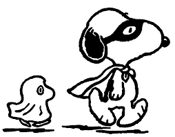 Small Picture Halloween Snoopy Coloring Page Wecoloringpage
