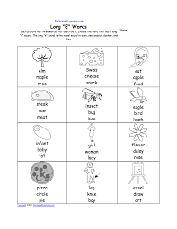 Magic e (vce or a_e). Long E Alphabet Activities At Enchantedlearning Com