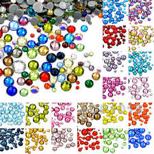 600PCS Mixed Size DMC Iron On Hotfix Crystal Rhinestones ...