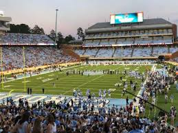 Kenan Memorial Stadium Section 118 Home Of North Carolina