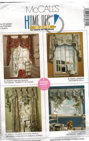 Curtain Patterns Mccalls Simple Ideas