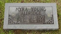 Myra Young Aldridge (1909-1928) - Find A Grave Memorial