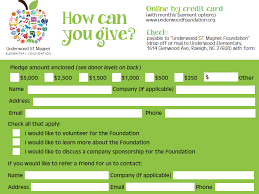 Pledge Cards For Fundraising Magdalene Project Org