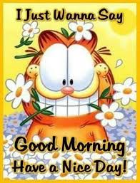 Have A Great Day Quotes Fascinating Good Morning Have A Nice Day Quotes Cute Quote Morning Garfield Good