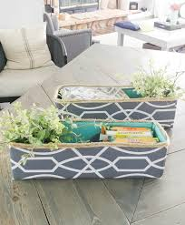 Cardboard Storage Box Decorative DIY decorative storage bin cardboard box upcycle Our House Now 56