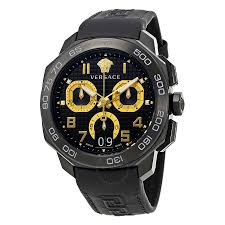 versace watches jomashop versace dylos black chronograph dial men s watch