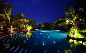 home swimming pools at night. Charming Paradise Pools Home Swimming At Night G