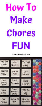 Family Responsibility Office Payment Chart How To Make Chores Fun Chore Chart Kids Family Chore