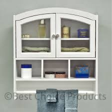 bathroom wall mounted storage cabinets. Bathroom Cabinet White Arch Top Bath Wall Mount Storage Solid Mounted Cabinets M