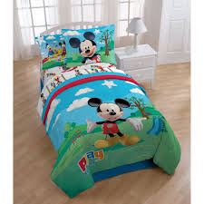 mickey mouse twin bed in a bag style
