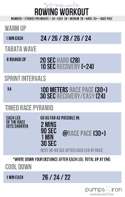 30 minute rowing workout