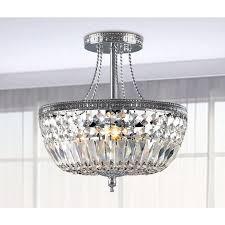 jessica crystal basket semi flush mount chrome light chandelierp home depot chandeliers wall lighting mounted