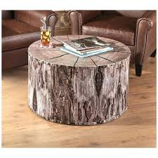 tree trunk coffee table color tablespoon