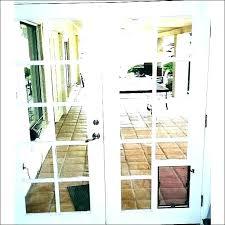 pet door for glass dog insert sliding with built security boss doors maxseal manufacturi
