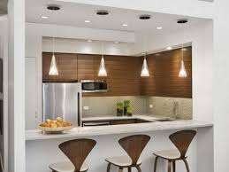 Kitchen Bar Top Kitchen Stools Interior Brown Wooden Cabinet And Kitchen Island