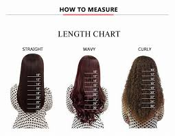 Hair Length Chart Women Loose Curly Lace Front Human Hair Wigs For Women Natural