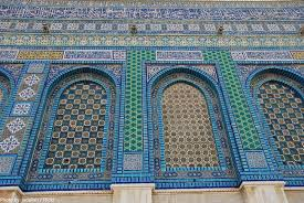 dome of the rock exterior decoration