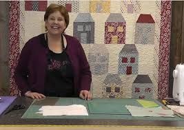 I just love house quilts, but don't like paper piecing. Jennie at ... & I just love house quilts, but don't like paper piecing. Jennie at Adamdwight.com