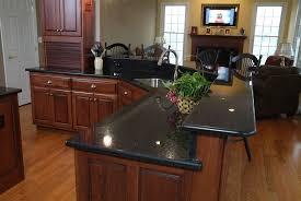 Kitchens With Dark Granite Countertops Kitchen Room 2017 Glamorous Interceramic In Kitchen Modern With