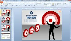 Microsoft Corporate Strategy Free Business Strategy Ideas Template For Powerpoint