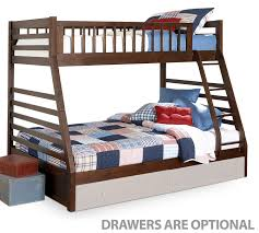 Bunk Bed Starship Bunk Bed Set Chocolate Cherry Leons