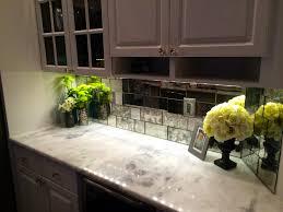 Builder\u0027s Glass Antique Mirror Tile Backsplash | kitchen ...
