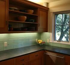 glass kitchen tiles. Green Glass Kitchen Backsplash - Mill Valley Modern-kitchen Tiles