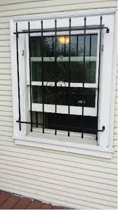 Decorative Security Grilles For Windows Window Guards Pre Fab Reed Brothers Security