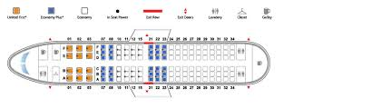 Boeing 737 700 Seating Chart United Boeing 737 700