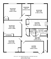 Small Four Bedroom House Plans Four Bedroom Flat
