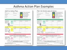 Asthma Action Plan Template Care Example Post Generic – Apptality