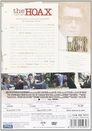 The Hoax - L'Imbroglio: Amazon.ca: Stanley Tucci, Alfred Molina, Richard  Gere, Marcia Gay Harden, Hope Davis, Lasse Hallstrom: DVD