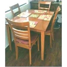 ikea childrens table and chairs ireland dining rectangular wood room with pads round assembly height