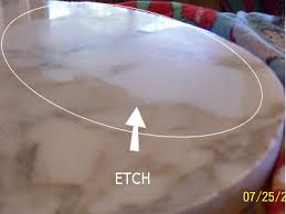 a large etch