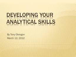 What Is An Analytical Skill Developing Your Analytical Skills