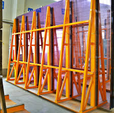 factory supply top quality storage rack for glass