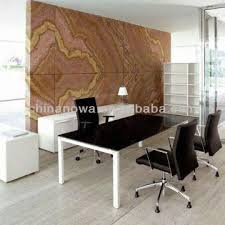 modern style office. China Modern Style Metal Frame Office Desk, Computer Desk , Mfc Table Top Executive