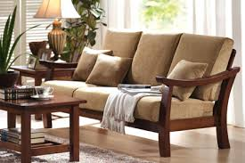 Simple Wooden Sofa Sets For Living Room  Google Search  Decors Real Wood Living Room Furniture
