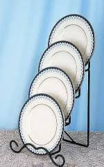 Plate Display Holders Stands Plate Stands Iron Four Tiered Plate Holder Set of 100 Tiered 72