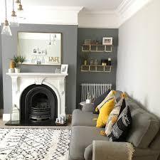 dark living room furniture. LIVING ROOM DARK GREY ACCENT WALL Dark Living Room Furniture