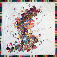 on hanging cloth wall art with for quilts sake etude in fabric art quilt wall hanging