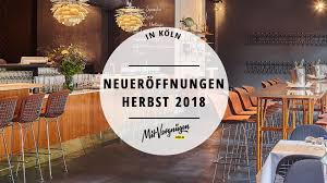21 Restaurants Bars Und Cafés Die Im Spätsommer Und Herbst 2018 In
