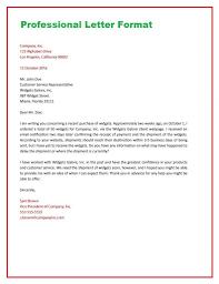 Business Letter Format Proper Canada Standard On Letterhead Example