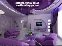 purple furniture. purple living room decorations with modern furniture ceiling