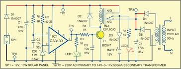 hybrid solar charger full circuit diagram with explanation solaredge inverter wiring diagram 2 hybrid solar charger circuit